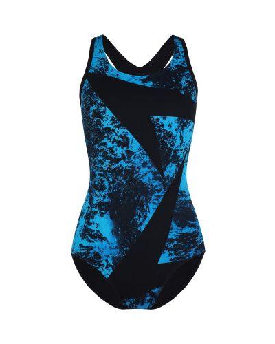 Спортивный купальник - черный Speedo