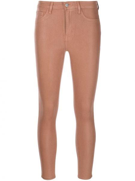 Укороченные брюки - коричневые L'agence