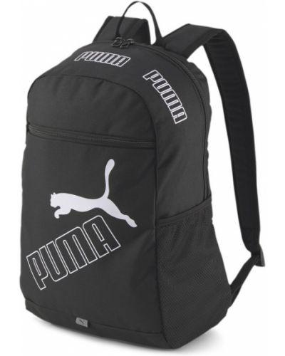 Черный рюкзак сетчатый Puma