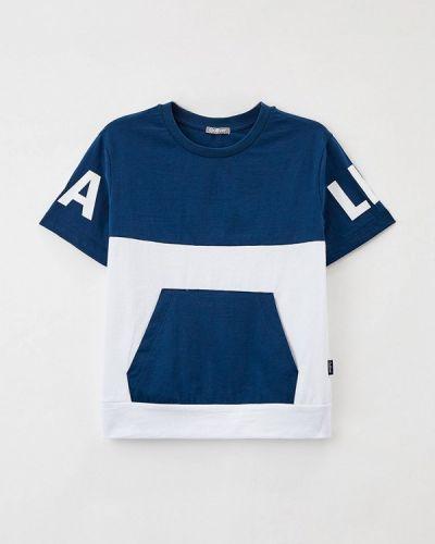 Синяя футболка с короткими рукавами Gulliver