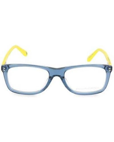 Niebieskie okulary Stella Mccartney