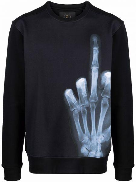 Czarna bluza z długimi rękawami Limitato