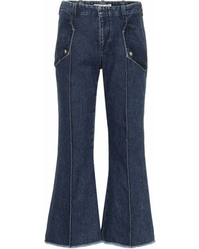 Rozbłysnął bawełna bawełna niebieski jeansy Acne Studios
