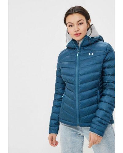 Зимняя куртка осенняя синий Under Armour