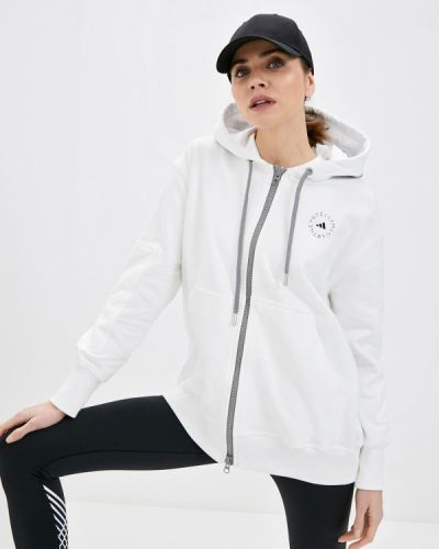 Белая толстовка Adidas By Stella Mccartney