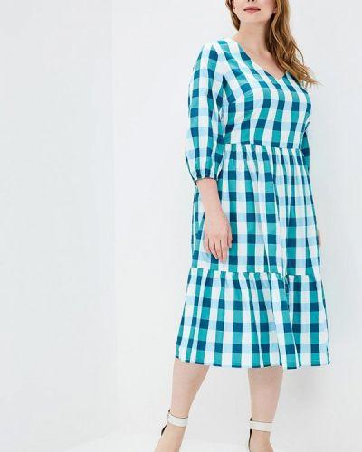 Летнее платье бирюзовый Matilda