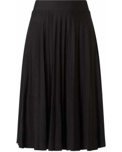 Czarna spódnica rozkloszowana Esprit Collection