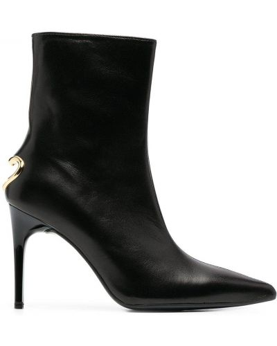 Ankle boots, czarny Love Moschino