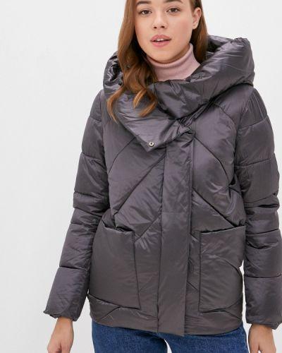 Теплая серая утепленная куртка Froggi