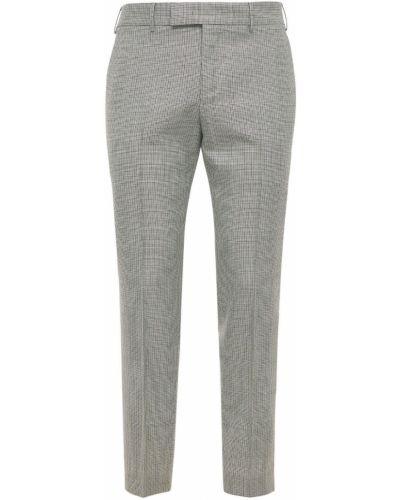 Beżowe spodnie wełniane Pantaloni Torino
