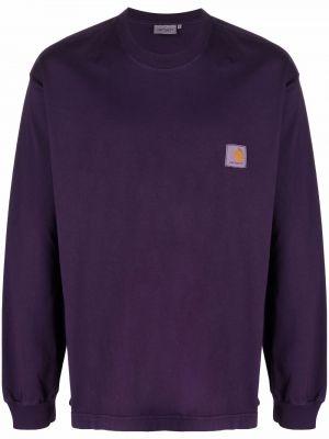 Bluza dresowa - fioletowa Carhartt Wip
