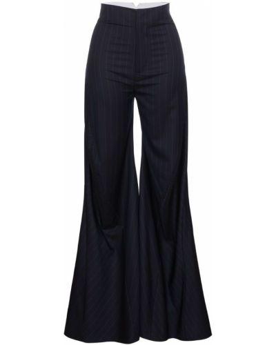 Расклешенные брюки в полоску Wright Le Chapelain