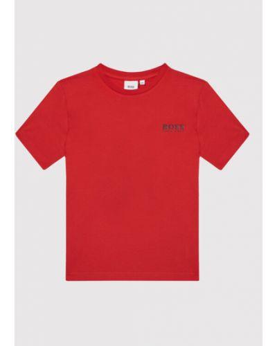 T-shirt - czerwona Boss