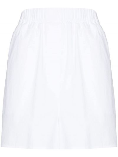 Белые хлопковые шорты Frankie Shop