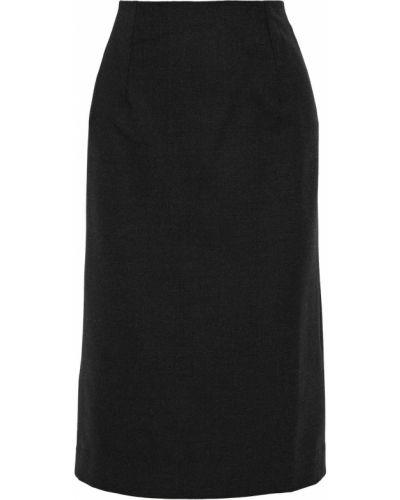 Шерстяная юбка Oscar De La Renta