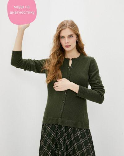 Зеленый кардиган Sisley