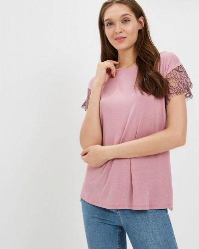 Блузка кружевная розовая United Colors Of Benetton