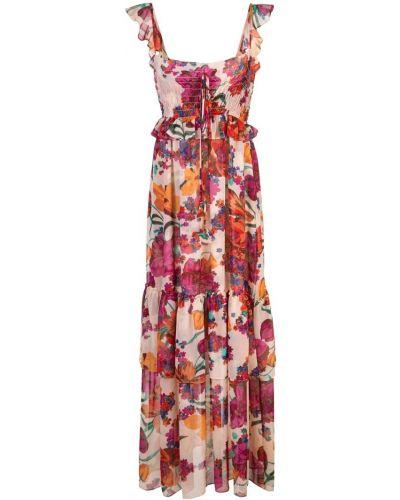 Платье на бретелях с цветочным принтом Misa Los Angeles