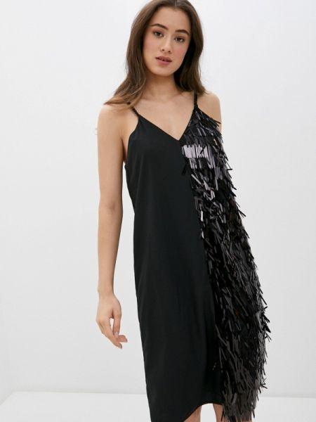 Платье - черное Sh