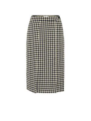 Черная юбка Victoria Beckham