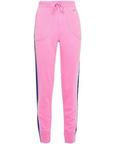Кашемировые вязаные брюки в полоску Bella Freud