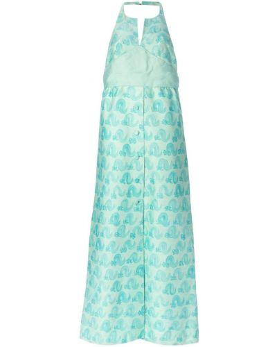 Вечернее платье с открытой спиной винтажная Courrèges Pre-owned
