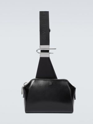 Czarna torebka crossbody skórzana Givenchy