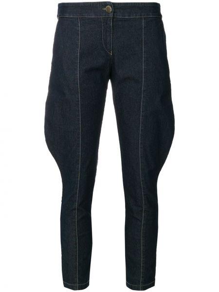 Укороченные брюки с карманами винтажные узкого кроя Giorgio Armani Pre-owned