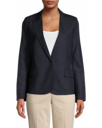 Шерстяной удлиненный пиджак с подкладкой с длинными рукавами Zadig & Voltaire