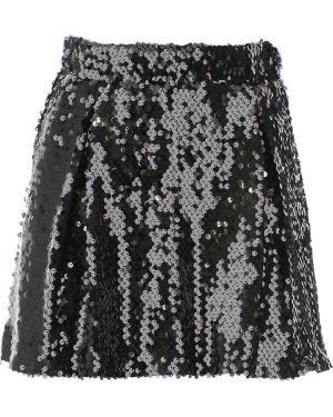 Spódnica z cekinami - czarna Aniye By