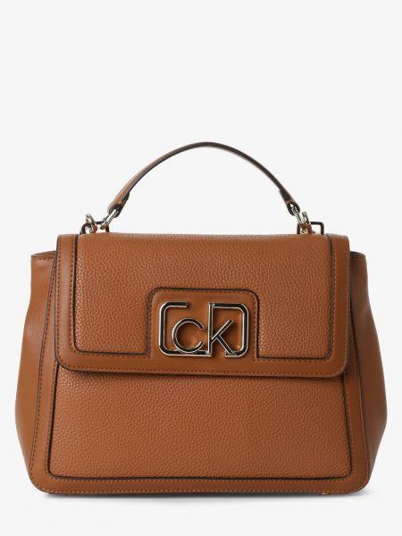 Beżowy torba crossbody Calvin Klein