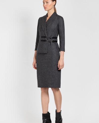 Платье серое платье-пиджак Vassa&co