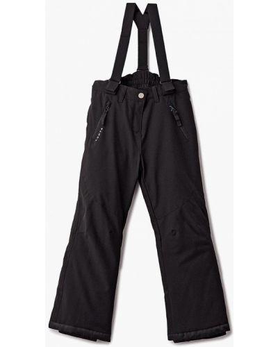 Черные брюки теплые Luhta
