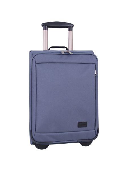 Серый чемодан Bagland