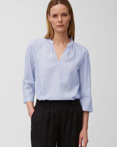 Tunika elegancka bawełniana w paski Marc O Polo