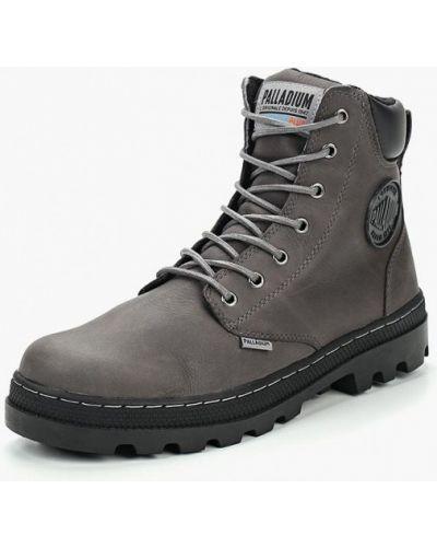 Ботинки осенние кожаные высокие Palladium