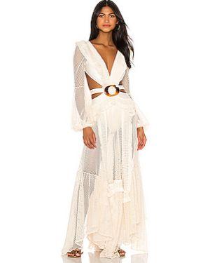 Пляжное платье в стиле бохо с кружевными рукавами Patbo