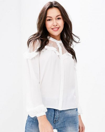 Белая блузка Naf Naf