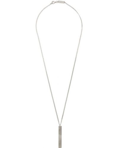 Ожерелье серебряное из серебра Maison Margiela