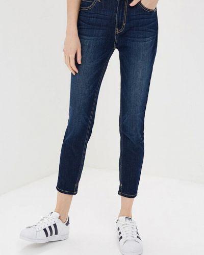 Синие джинсы-скинни Tom Tailor