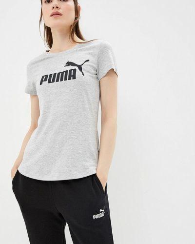 Серая футболка 2019 Puma