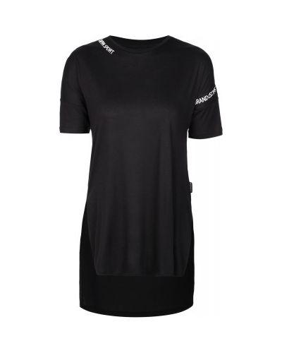 Спортивная футболка из вискозы черный Kappa