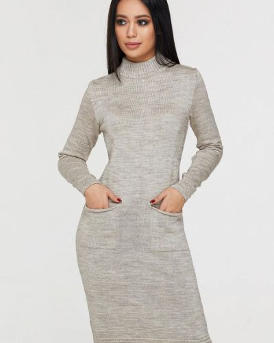 Платье - бежевое Brunello De Neri