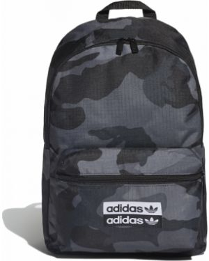 Sport plecak miejski materiałowy z printem Adidas