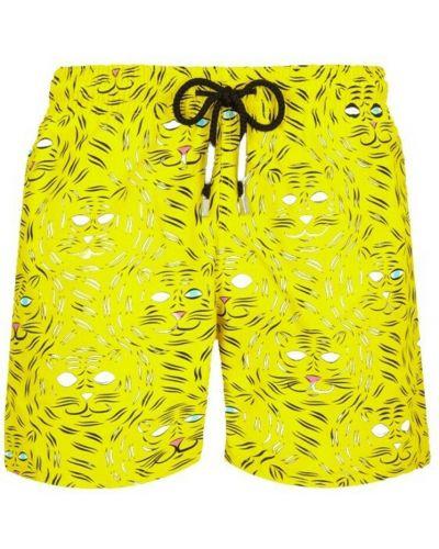 Żółte szorty Vilebrequin