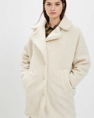 Пальто демисезонное бежевое Jennyfer