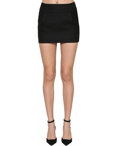 Czarna spódnica mini Alexandre Vauthier