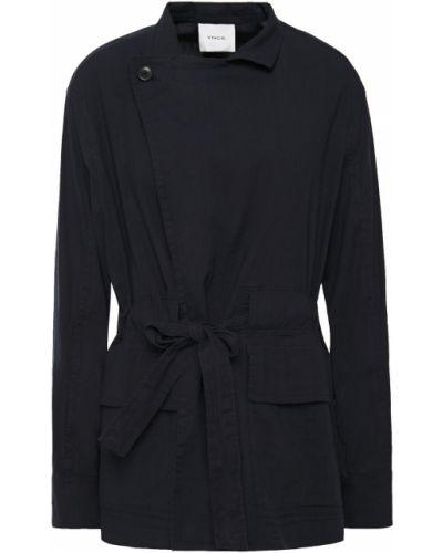 Куртка с карманами на пуговицах с манжетами Vince