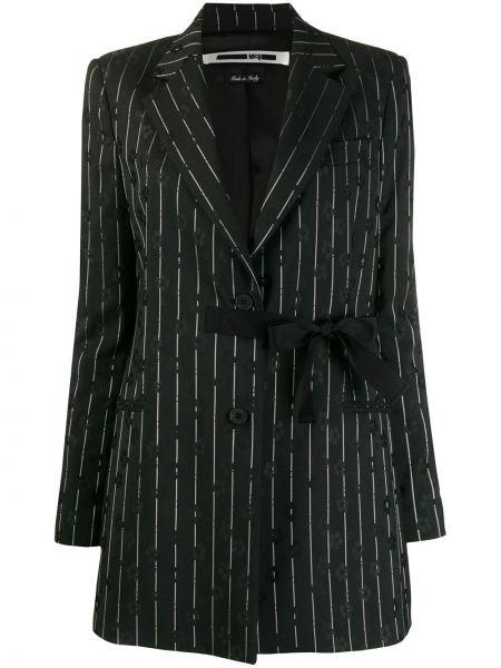 Шерстяной черный пиджак с карманами Mcq Alexander Mcqueen