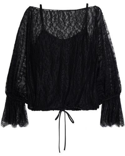 Czarna bluzka koronkowa Bailey 44